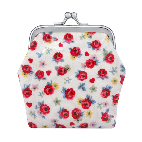 Mini Porta moedas Cath Kidston - Roses and Hearts