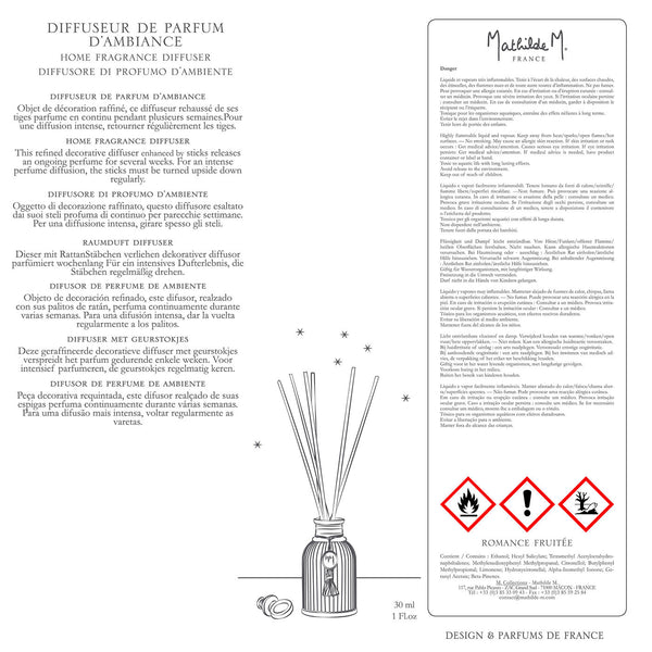 Difusor Intemporal 30ml Romance Fruitée