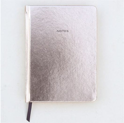 Notebook A5 Rose Gold