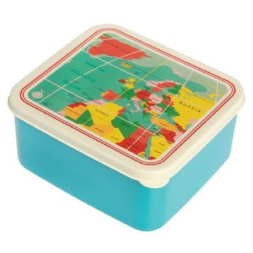 Lunch Box Mapa Mundo