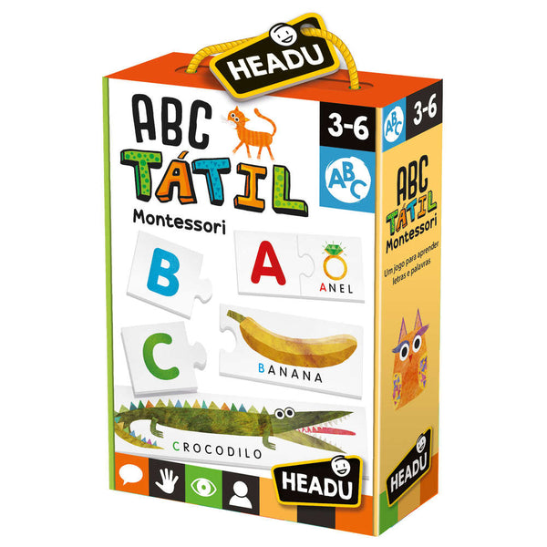 ABC Táctil - Montessori