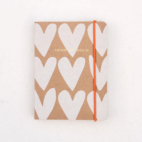 Chunky Book A6 Hearts