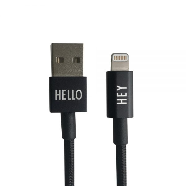 My Cable para iPhone Preto