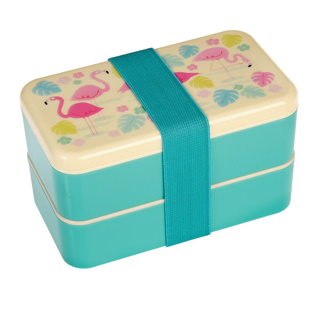 Flamingos Bento Box L