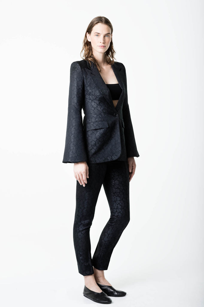 Smythe Bell Sleeve Blazer and Cig Pant