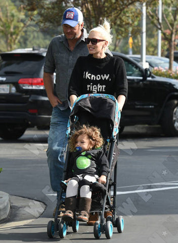 Gwen Stefani in sweater by Smythe