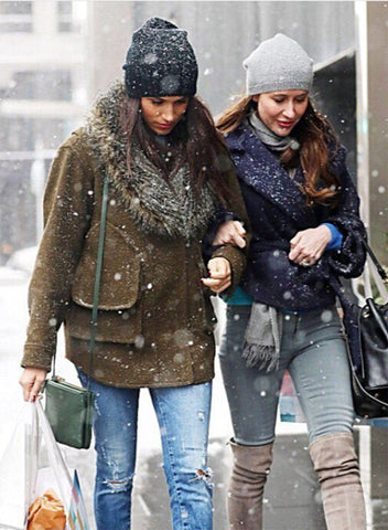 Meghan Markle in Smythe Flak Jacket