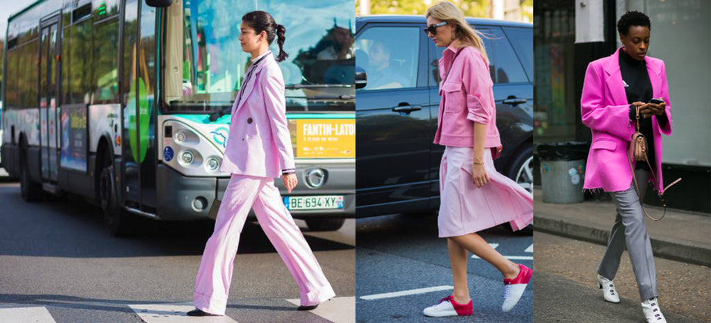 Pink Lady Collage