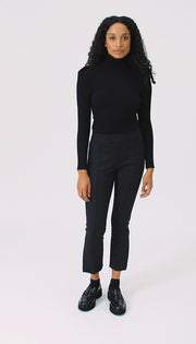 Pouf Sleeve Knit Top