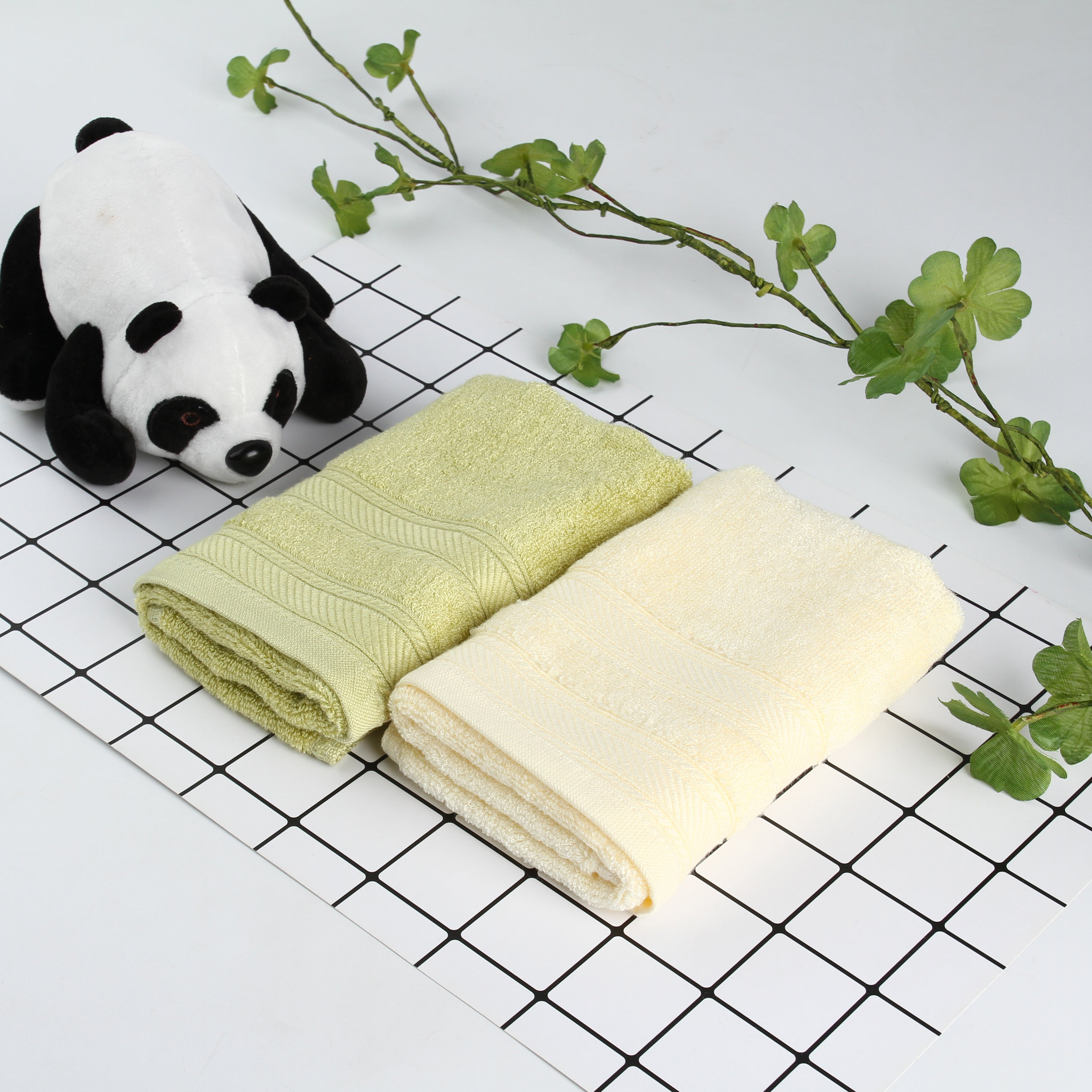Bamboo Lover Facial Towel Set (2pcs)