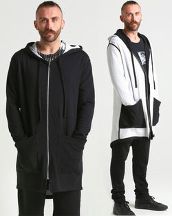 Donno REVERSIBLE Hooded Coat