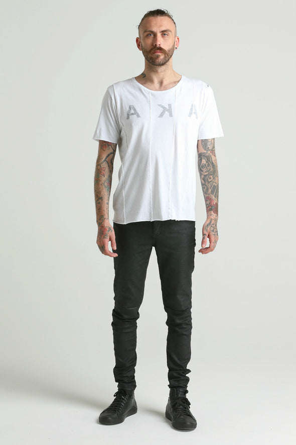 Potent SEAMED Tee-white