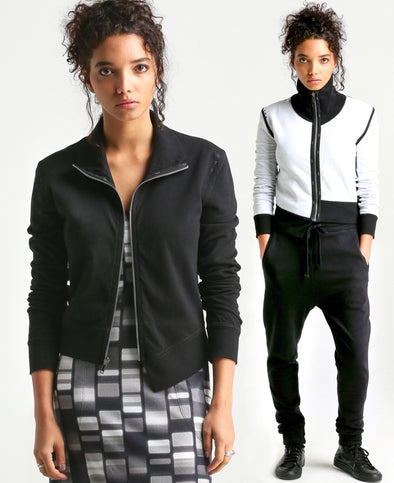 Nelle REVERSIBLE high neck Jacket