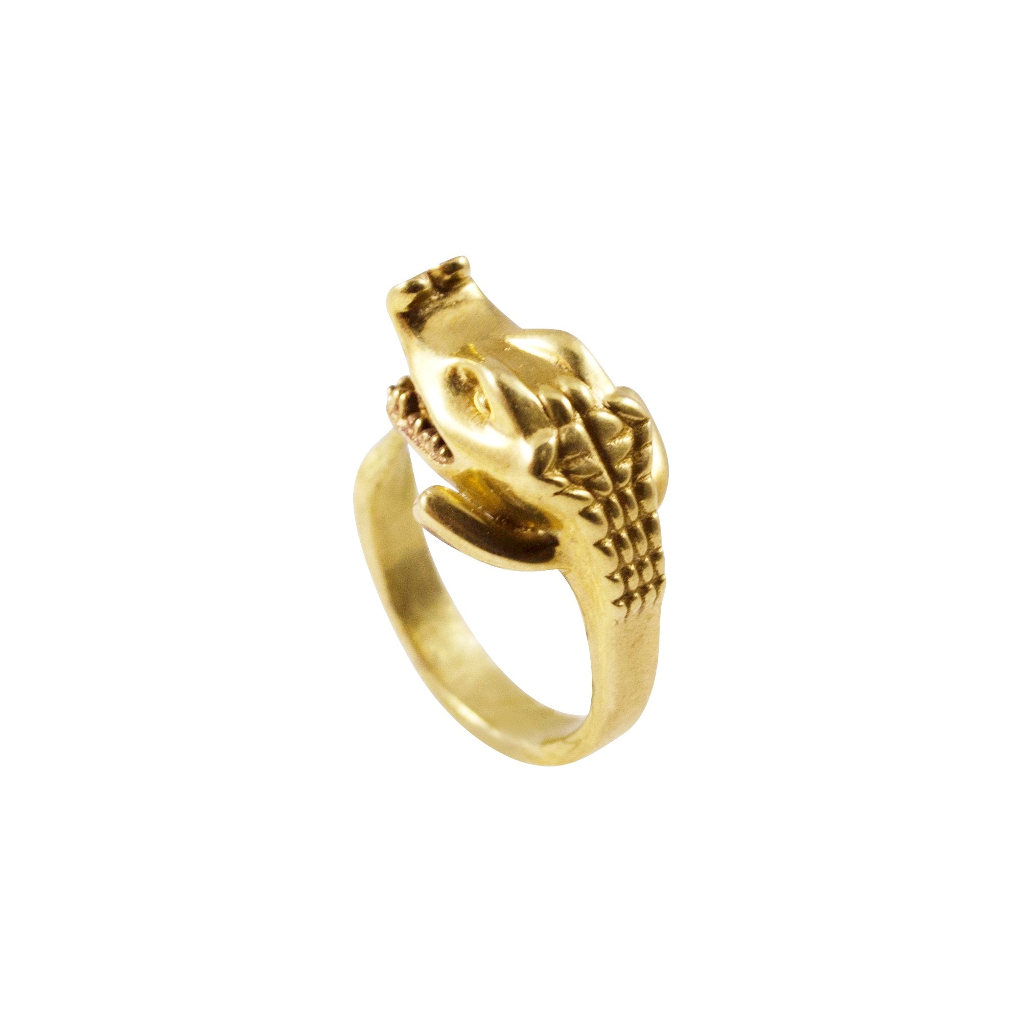 Crocodile Ring