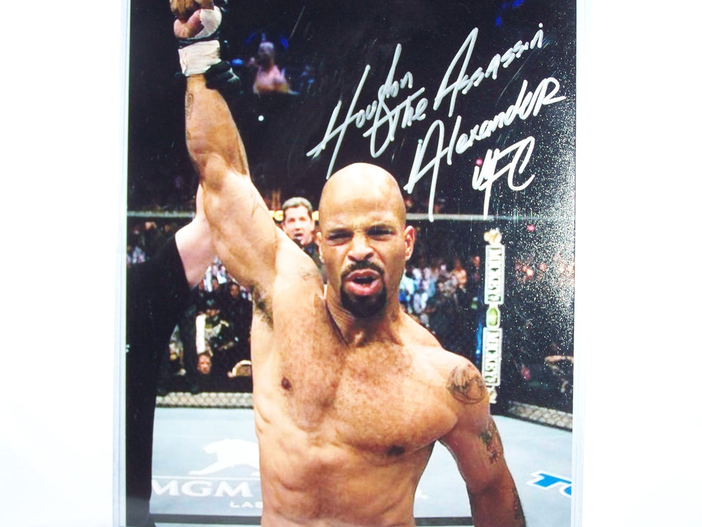 Houston Alexander Signed 8x10 Photo Autograph Signed UFC PSA COA MMA