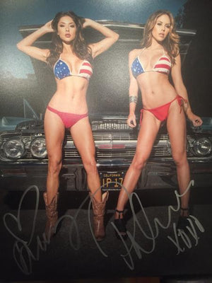 Arianny Celeste and Brittney Palmer