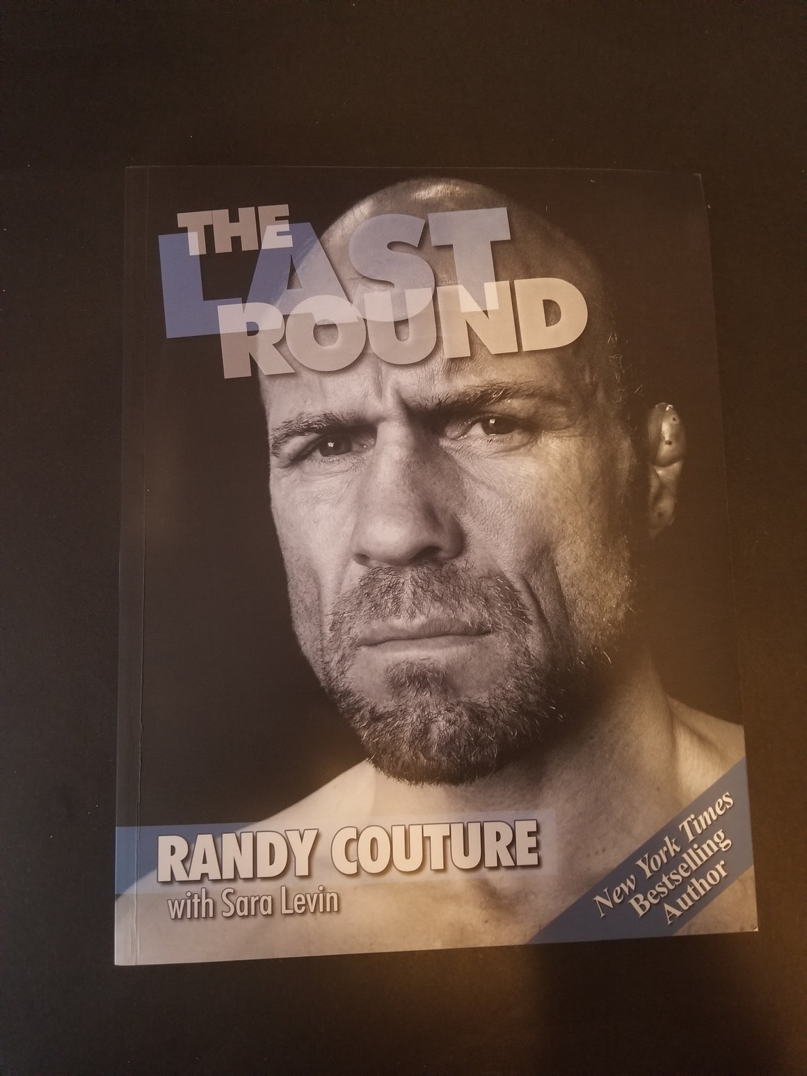 Signed Randy Couture Book
