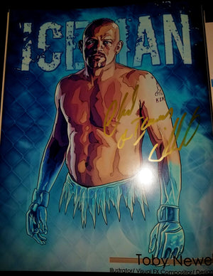 Chuck The Iceman Liddell Signed 11x14