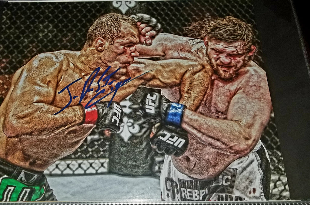 Junior Dos Santos Signed 11x14