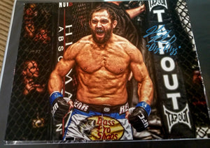 Johny Hendricks Signed 11x14