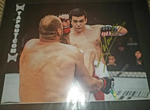 Lyoto Machida Signed 11x14
