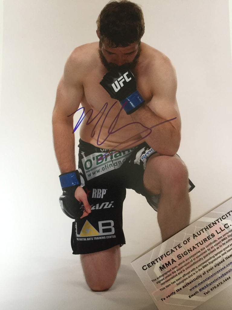 Mitch Clark Signed 8x10 Photo Autograph UFC PSA COA MMA
