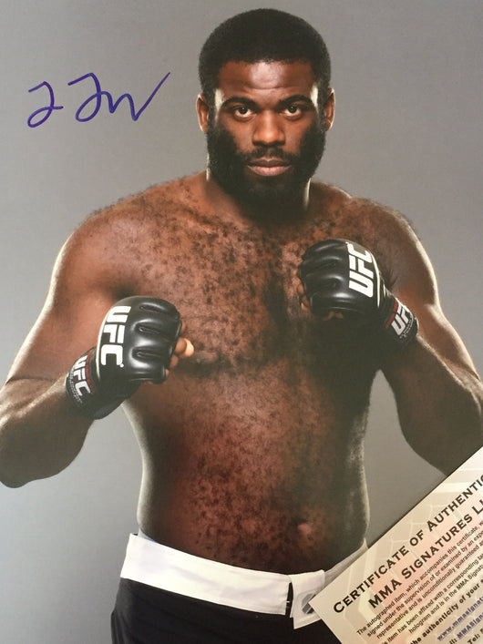 Justin Jones Signed 8x10 Photo Autograph UFC PSA COA MMA