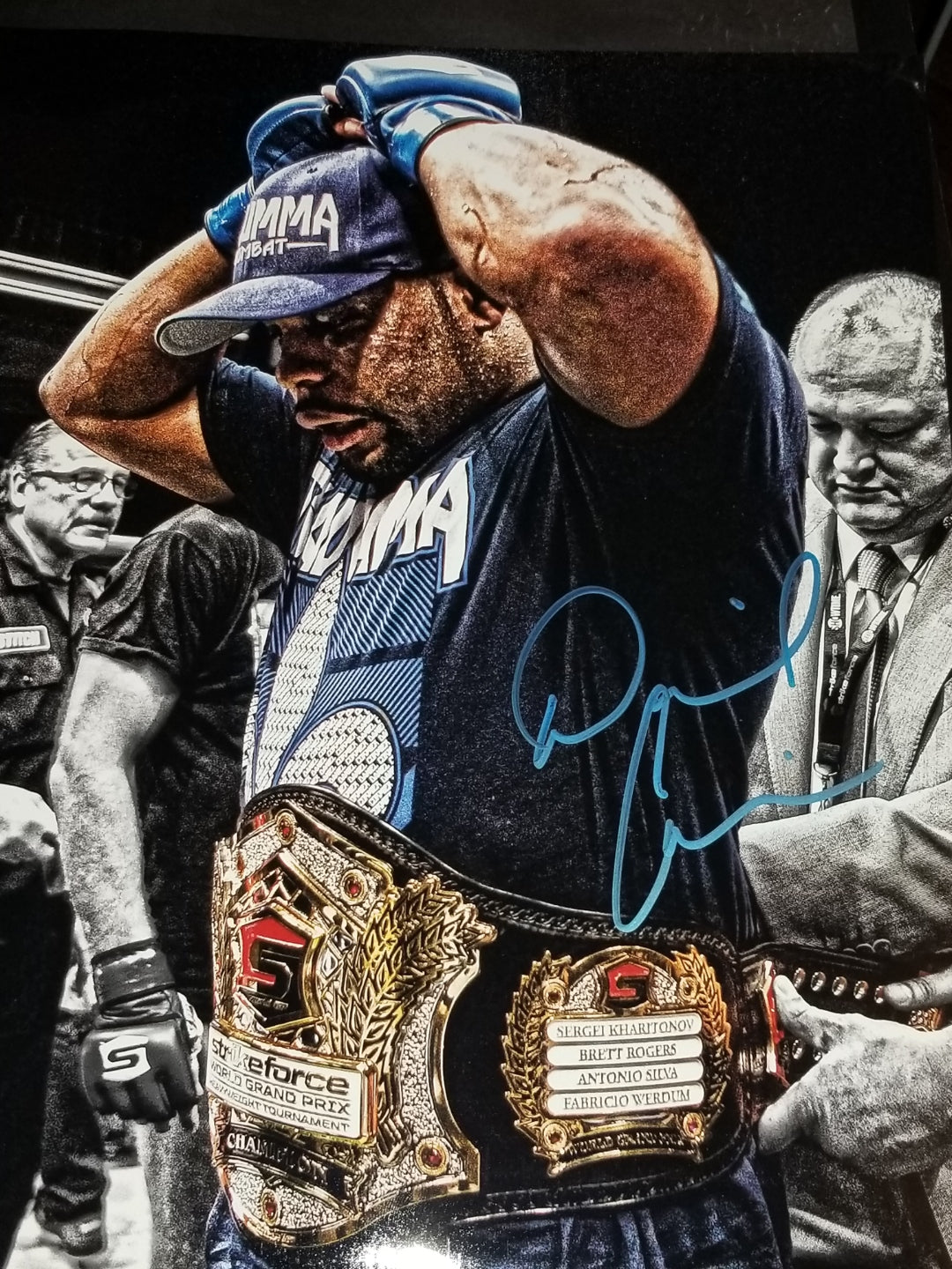 UFC 230 Special Daniel Cormier Signed 11x14 Photo w/COA CHAMP CHAMP (HWGP)
