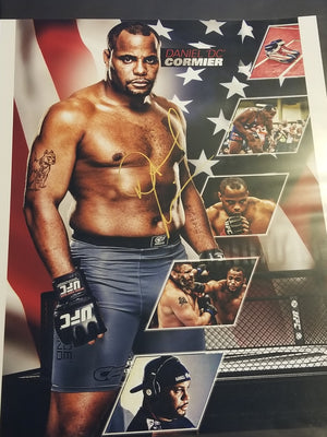 Daniel Cormier Signed 16x20 *Only 2 made in this size. DC owns the other one*