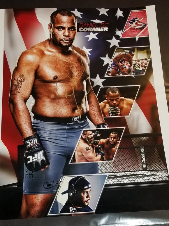 RARE! UFC 230 Special Daniel Cormier Signed 16x20 Photo w/COA **Only 2 made in this size. DC owns the other one**
