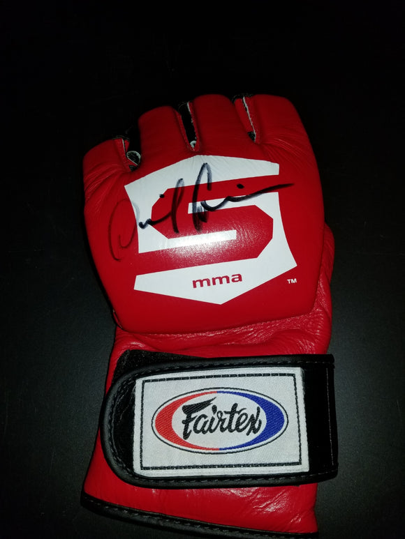 UFC 230 Special Daniel Cormier Signed Strikeforce V2 Glove w/COA