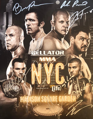 Bellator 170 Multi Signed 11x14 *LAST ONE*