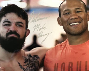 Platinum Mike Perry and Jacare Dual Signed