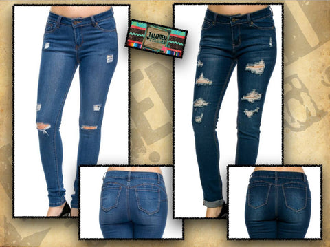 Missy Distressed Jeans