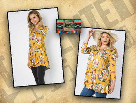 Miss Mustard Floral