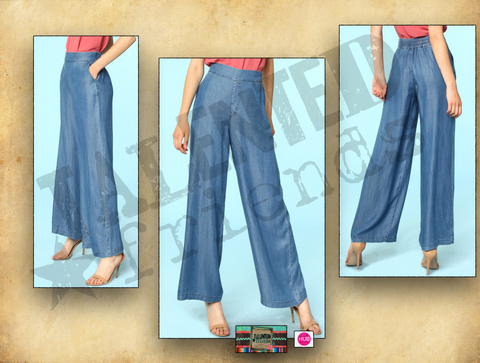 Miss Chambray Pants