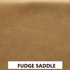 FUDGE SADDLE VINTAGE LEATHER SWATCH