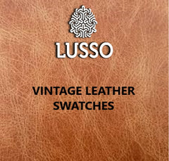 Lusso Vintage leather swatches