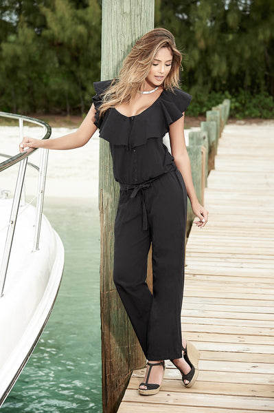 Summer Black Jumpsuit Great for Resort Wear