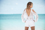 Swimwear Cover Up Romper-Sassy Assy Swimwear