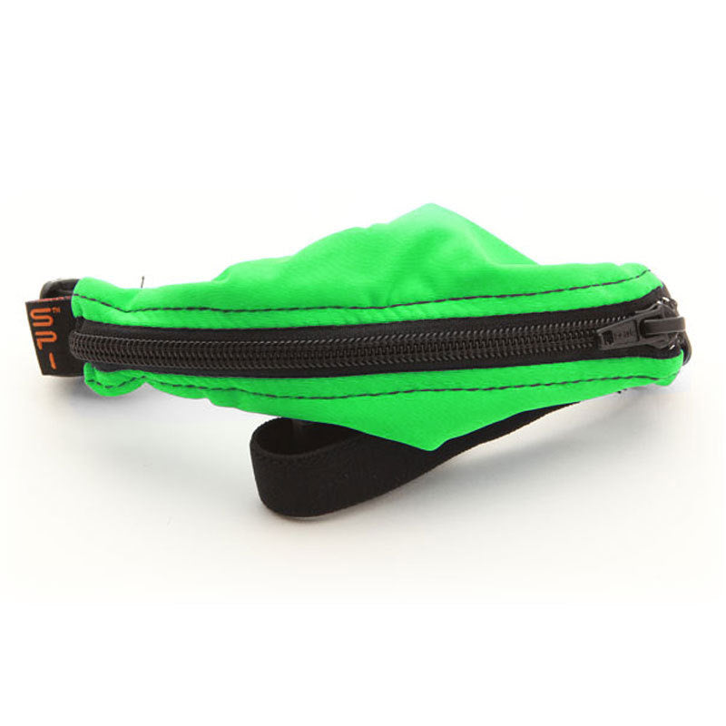 Kids Spibelt Lime Green with Black Zipper