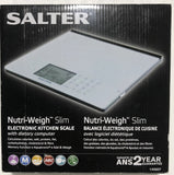 Salter 1406 Glass Nutritional Scale - FINAL SALE