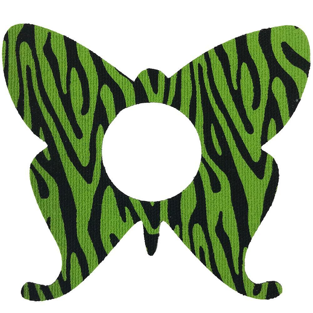 LIBRE LIME ZEBRA BUTTERFLY PATCH - FINAL SALE
