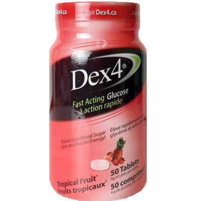 Dex 4 Tropical Fruit Tablets