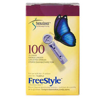 Freestyle Lancets 100/bx