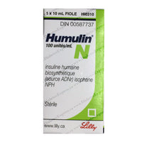 Humulin N Insulin 10ml vial