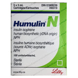 Humulin N Insulin Cartridge