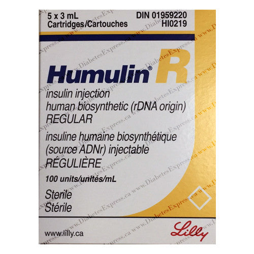 Humulin R Insulin Cartridge