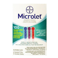 Bayer Microlet Lancets 28G
