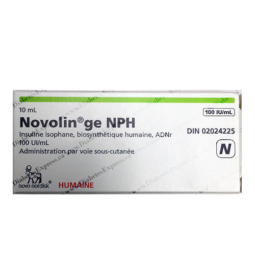 Novolin GE NPH 10ml vial